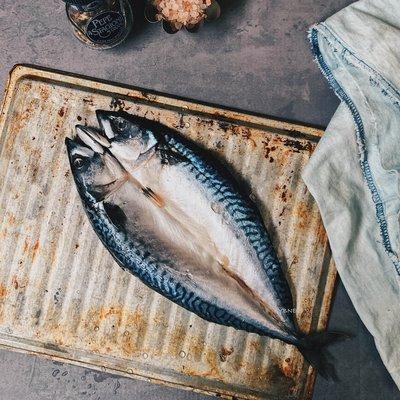 鯖魚一夜干(整隻剖半)
