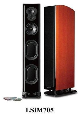 Polk Audio LSi M705 Tower 旗艦系列落地喇叭 櫻桃木色 展示品一對 原價168000 新店音響