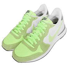=CodE= NIKE W INTERNATIONALIST PRINT麂皮復古慢跑鞋(白綠灰)807412-100 女