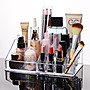 ANLIFE》創意化妝品收納盒 透明首飾口紅整理...
