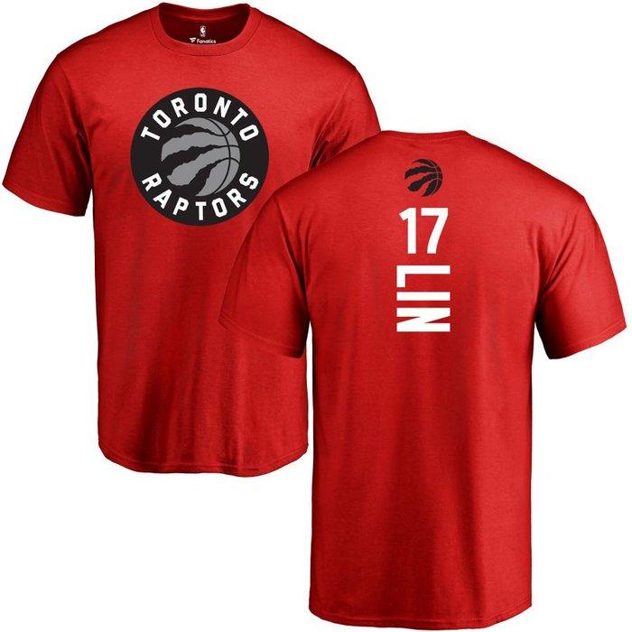 《FOS》NBA 男生 林書豪 多倫多暴龍隊 短T 短袖 t恤 純棉 Jeremy Lin Raptors 送禮