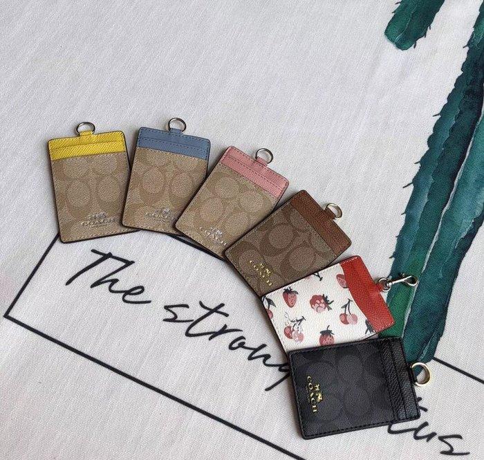 NaNa代購 COACH 23679 65573 最新款PVC 男女通用工作牌 吊牌 證件夾 附購證 買即送禮