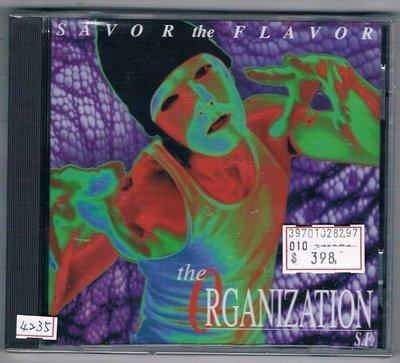 [鑫隆音樂]西洋CD-THE OGANIZATION S.F. :SAVO the FLAVOR  /全新/免競標