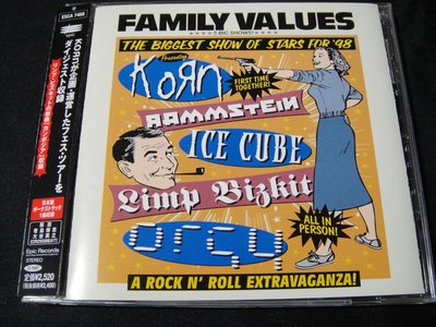 【198樂坊】The Family Values Tour '98(New Skin.....日版)BV