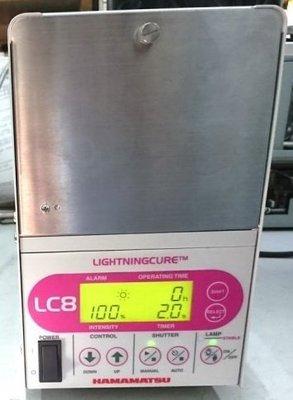 行家馬克 工控 濱松 Hamamatsu LC8 L9566-03 紫外線點光源 UV固化機 LC8機 UV乾燥爐 光源機 中古品 買賣維修