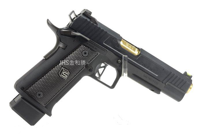 JHS((金和勝 槍店))免運費 WE SA-DS-0100 HI-CAPA 5.1-SAI黑 瓦斯手槍 4844