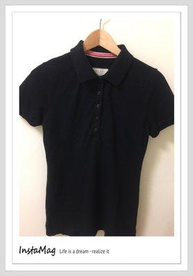 Lativ 國民服飾黑色polo衫