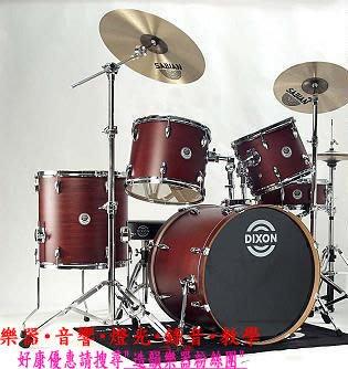 造韻樂器音響- JU-MUSIC - 全新 Dixon Venom 系列 插梢 爵士鼓 組 有 消光 黑 藍 紅 歡迎詢問