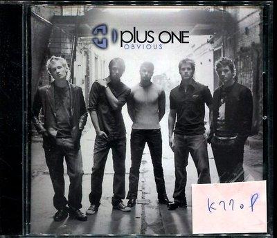*真音樂* 3 PLUS ONE / OBVIOUS 二手 K7709  (大降價.下標賣1)