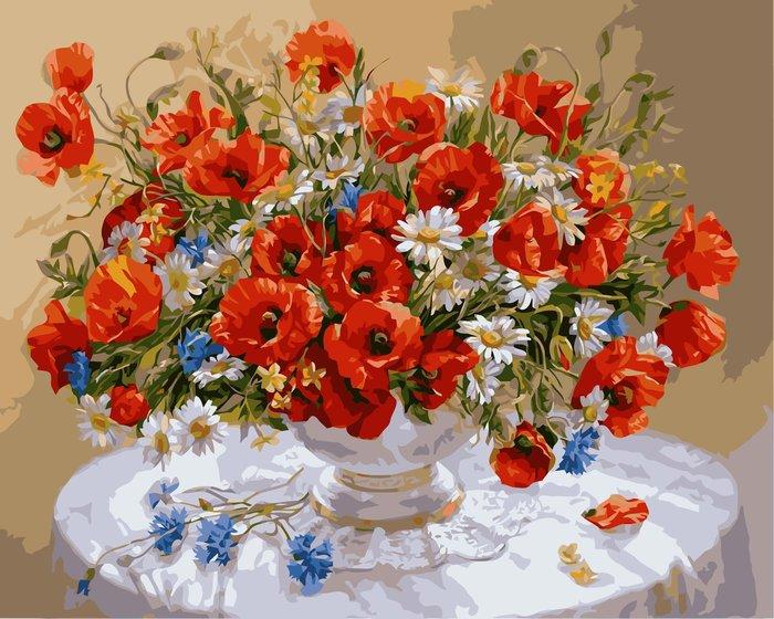 八號倉庫 DIY手繪風景人物花卉數字油畫 40x50【1T112X670】174下標區