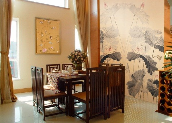 【芮洛蔓 La Romance】手繪絲綢壁紙 ZW01-039-039 / 壁飾 / 畫飾 / 牆紙