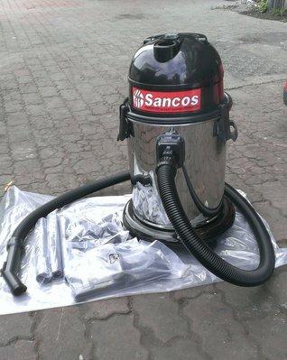 【專業洗車設備の店 】SANCOS乾.濕.吹三用吸塵器3219W