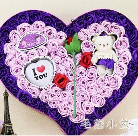 花束生日禮物女生七夕情人節送女友朋友浪漫愛情肥皂玫瑰香皂花束 ys3604