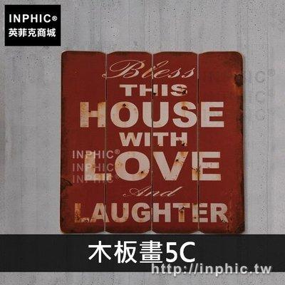 INPHIC-木板畫牆面裝飾品咖啡廳美式復古酒吧英文字母主題餐廳壁飾-木板畫5C_EETs