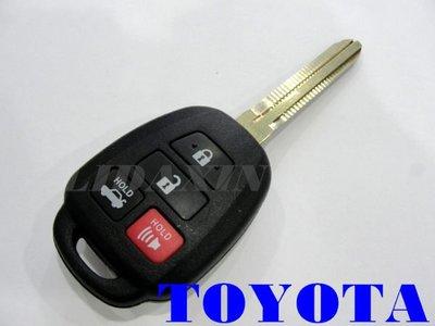2014 NEW Wish RAV4  豐田汽車晶片摺疊鑰匙 新增拷貝