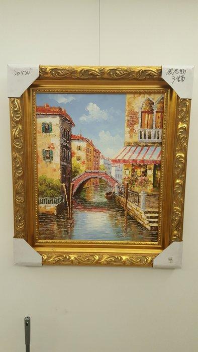 威尼斯河景