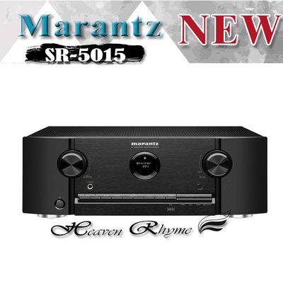 台中【天韻音響】日本 MARANTZ SR5015 環繞擴大機  / eARC / HDR10+ 完整 7.1前级輸出