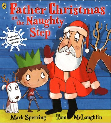 *小貝比的家*FATHER CHRISTMAS ON THE NAUGHTY STEP/平裝/3~6歲/聖誕節