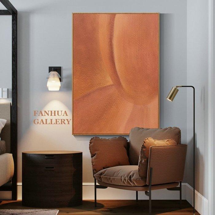 C - R - A - Z - Y - T - O - W - N 純手繪立體筆觸油畫橘色夢境抽象藝術油畫設計師款裝飾畫商空美學空間設計師款高檔手繪油畫收藏掛畫