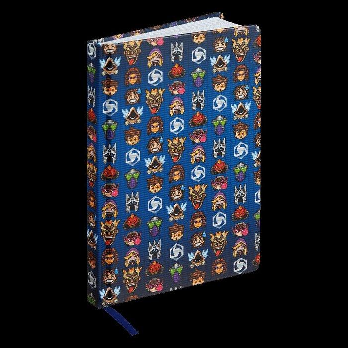 【丹】暴雪商城_Heroes of the Storm 8-bit Notebook 暴雪英霸 筆記本 日記本