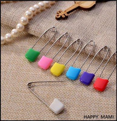 糖果色不鏽鋼多用途安全別針/兒童尿布紗布巾安全別針/圍兜安全別針/束腹帶安全別針/多種顏色