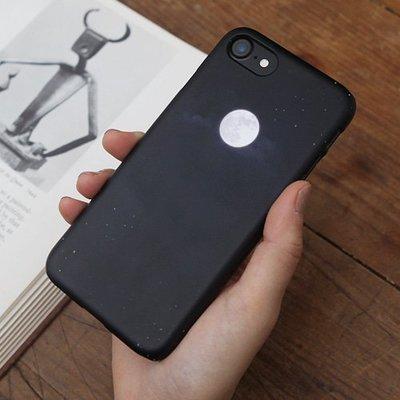 韓國 月圓之夜 硬殼 手機殼│S7 Edge S8 S9 S10 S10e