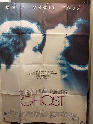 第六感生死戀-Ghost (1990)(摺式)原版法大版海報