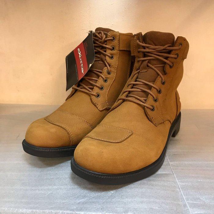 EXUSTAR E-SBT103 駝色短靴45號