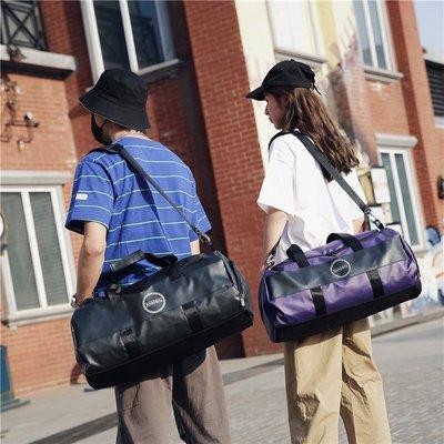 短途旅行包女圓筒干濕分離健身包男運動訓練手提旅游輕便行李包袋