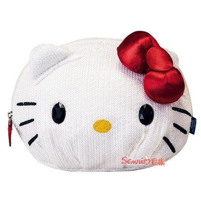 東京家族 kitty 亮片款 收納包