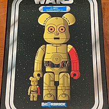 Star Wars c3po 400% + 100% bearbrick