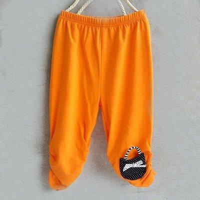 【班比納精品童裝】小包包內搭褲-橘【S2501215】