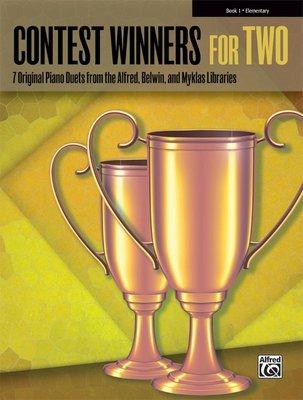 【599免運費】Contest Winners for Two, Book 1 【00-42270】