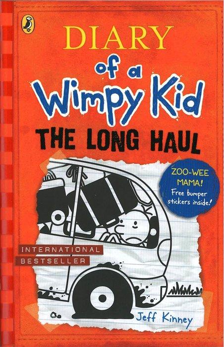 *小貝比的家*DIARY OF A WIMPY KID:THE LONG HAUL(遜咖日記 9: /平裝/7-12歲