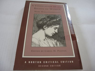 A Vindication of the Rights of Woman/ Mary Wollstonecraft 全新