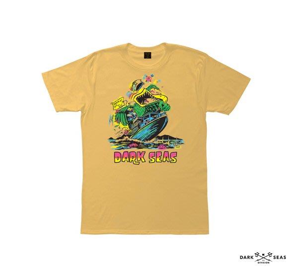 GOODFORIT / 美國Dark Seas Wild Bird噴畫風格短袖上衣