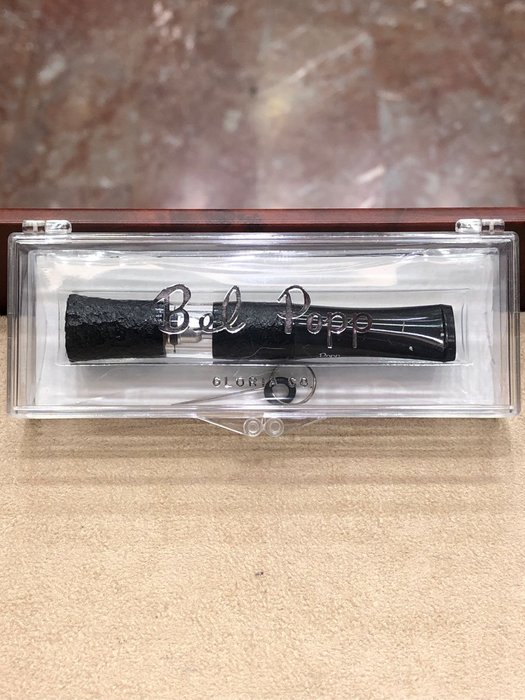 日本製 bel popp 喇叭黑貝石楠木煙嘴