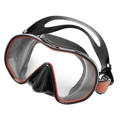 台灣潛水---SAEKODIVE M-1102 無框矽膠單面鏡