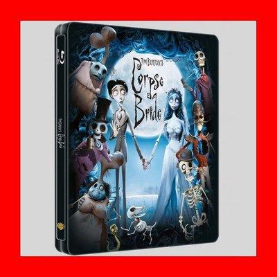 【BD藍光】提姆波頓之地獄新娘:限量鐵盒版Corpse Bride(英文字幕)-神鬼奇航 強尼戴普配音