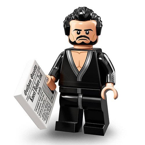 現貨【LEGO 樂高】2018最新 蝙蝠俠電影2 人偶包抽抽樂 人偶系列 71020 | #17 薩德將軍+報紙零件