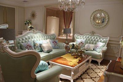 [紅蘋果傢俱] 8603  歐式輕奢 沙發系列 皮沙發 沙發組