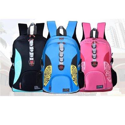 【UNME】【送UNME餐袋】多功能圖騰後背包(桃紅/粉藍/黑色) 3265