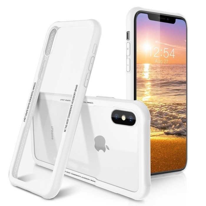 iPhone 鋼化玻璃 手機殼 防摔殼 保護殼 玻璃殼 鋼化 背殼 XR XS iphone8 iphone7 i6s