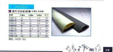 附發票*東北五金*台灣製地板配線槽各種尺寸,半圓型配線槽,圓弧型壓條(此為RD-90下標區)