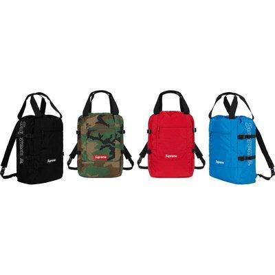【美國鞋校】現貨 Supreme SS19 Tote Backpack 後背包