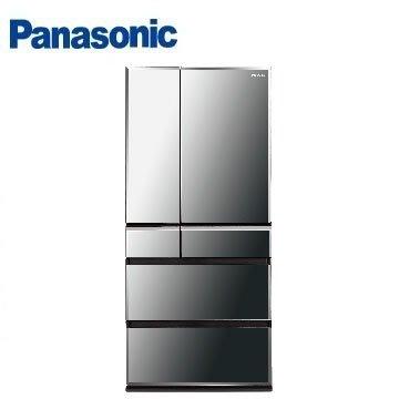 Panasonic 665公升尊爵ECONAVI六門變頻冰箱 NR-F672WX-X1(鑽石黑)