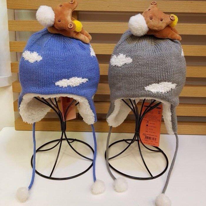 *妳好,可愛*韓國童鞋 韓國 winghouse 可愛小熊款 韓國 兒童帽子 立體小熊帽子 (2色)