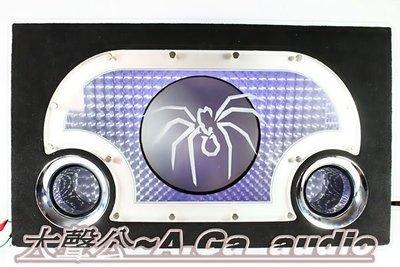 全新單12吋3D立體沒毒蜘蛛壓克力之重低音專用音箱~蜘蛛哥~螃蟹姐~龍蝦姨~鮑魚妹~