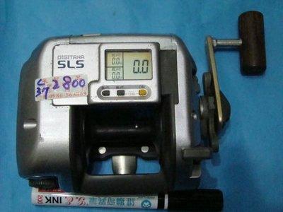 v采潔 釣具  SHIMANO SLS型 捲線器日本製 二手 釣具 二手釣竿 二手捲線器 中古   編號 c【 37 】