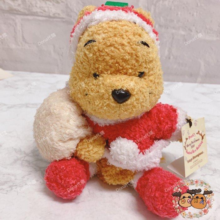 【Dona代購】日本迪士尼樂園限定 聖誕節小熊維尼聖誕老公公 小物包/掛飾 B04